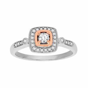 1/4 ct Vintage-Style Diamond Ring